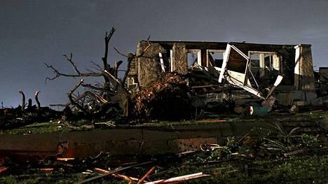 Joplinin kaupungista tuhoutui kolmannes.