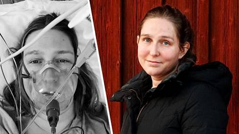 Heini Lehtonen joutui koronan takia sairaalahoitoon.