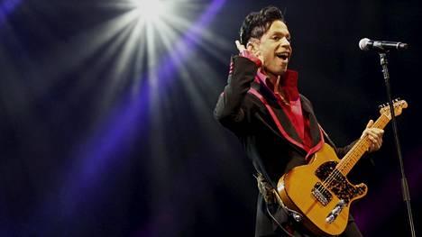 Muusikko Prince kuoli vuonna 2016.