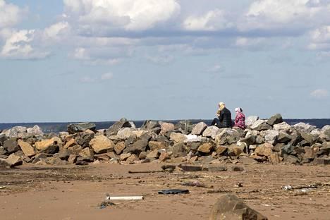 Vanhan rajavyöhykkeen maisemaa on myllerretty viime vuosina Suomenlahden rannalla isoilla maansiirtotöillä.