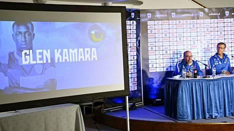 Suomen EM-kisajoukkue julkaistiin tiistai-iltana 1. kesäkuuta. Glen Kamara on joukkueen avainpelaajia.