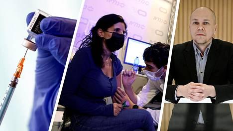 Rokotekeskuksen johtaja Mika Rämet pitää Israelin tuloksia loistavina uutisina.
