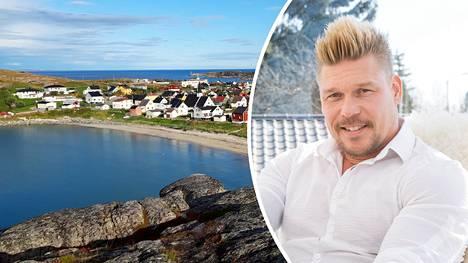Aki Manninen kertoi ajaneensa ystävänsä kanssa autolla Kilpisjärven kautta Norjaan. Kuvassa Pykeija Pohjois-Norjassa.