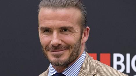 David Beckham muisteli nuoruuttaan.
