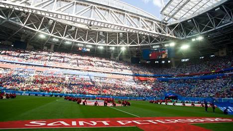 Pietarissa pelattiin MM-jalkapalloa 2018.