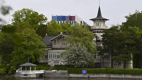 Pääministerin virka-asunto Kesäranta Helsingissä 31. toukokuuta 2021.