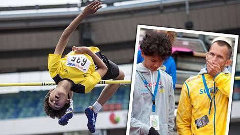 Korkeushyppylegenda Stefan Holmin pojasta on kehittymässä kovan luokan korkeusmies.