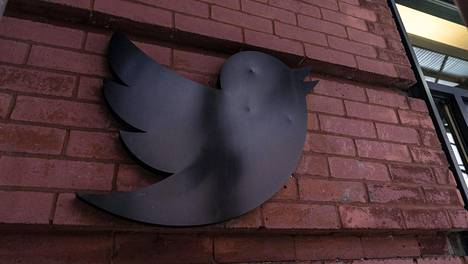 Twitterin logo Manhattanilla, New Yorkissa 28. heinäkuuta 2020.