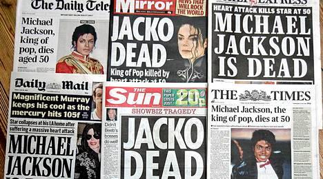 Michael Jacksonin kuolema dominoi mediaa neljä vuotta sitten.