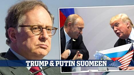 Alexander Vershbow toimi Yhdysvaltain Venäjän-suurlähettiläänä 2000-luvun alussa.
