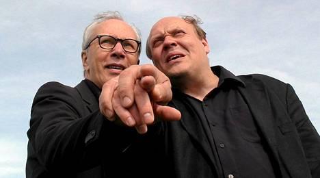 Pekka Milonoff ja Hannu-Pekka Björkman ovat näytelmäelokuvan tähtiä.