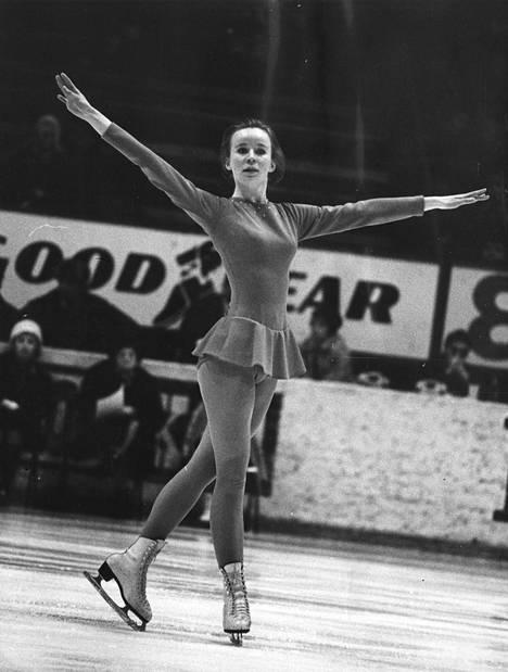 Anuliisa Uotila aktiiviurallaan 1970-luvulla.