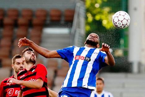 HJK kohtasi vuoden 2017 Euroopan liigan karsinnoissa makedonialaisen KF Shkëndijan.