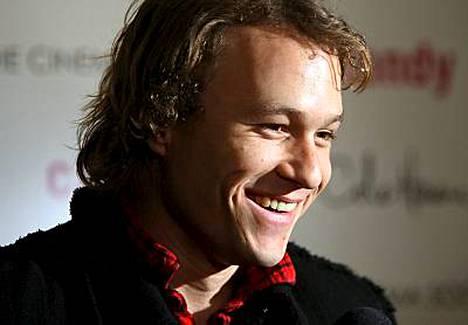 Näyttelijä Heath Ledger kuoli tammikuussa 28-vuotiaana.