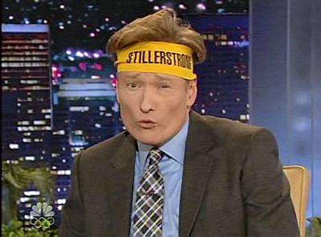 Conan OBrien hassuttelee huhtikuusta kesäkuuhun kiertueella.