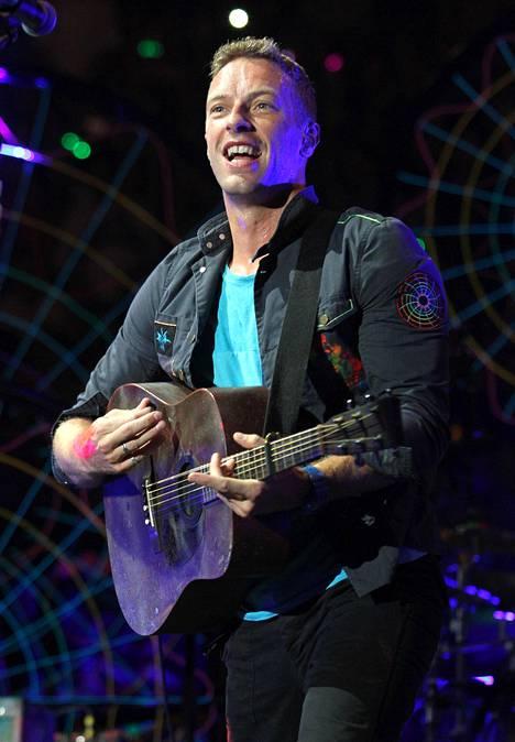 Chris Martin on supersuositun brittiyhtye Coldplayn laulaja-pianisti.