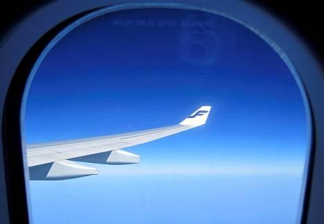 Finnairin lentoliikenne jäi tänä vuonna noin kymmenesosaan tavallisesta.