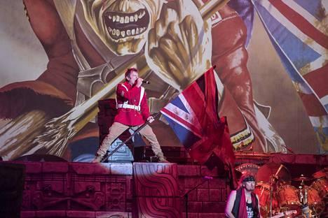 Iron Maidenin Bruce Dickinson kannattaa brittien EU-eroa.