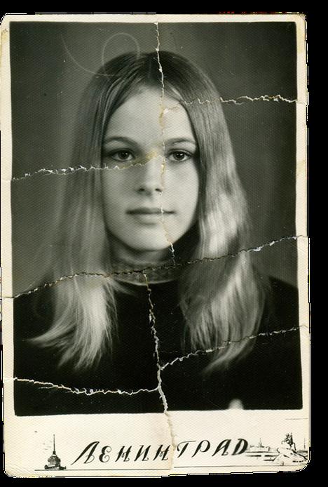 Tämä kuva on otettu Leningradissa vuonna 1972. Elena Kondulainen oli silloin 14-vuotias.