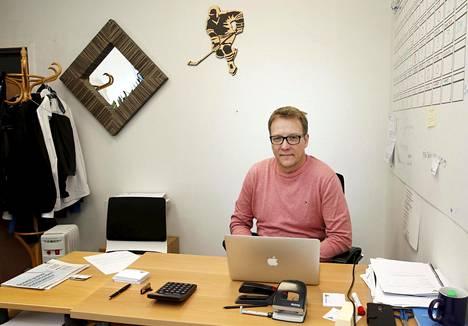Janne Laukkanen on Pelicansin urheilutoimenjohtaja.