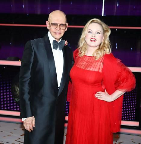 Ex-pariskunta esiintyi yhdessä Tanssii tähtien kanssa -finaalissa viime joulukuussa.