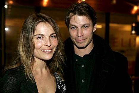 Irina Björklundin ja Peter Franzén ilo on yhteistä.