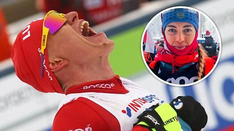 Bolshunov juhli MM-kultaa.