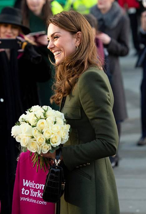 Herttuatar Catherine kertoi vieraillessaan Yorkshiressa, ettei prinssi William halua enempää lapsia.