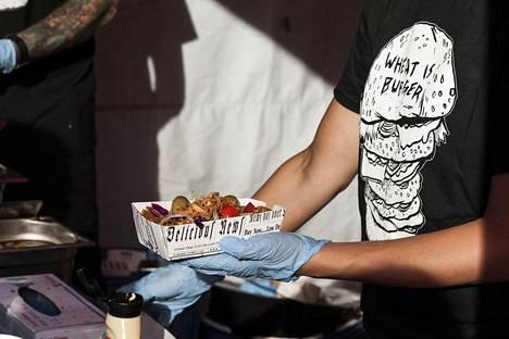 """Vegåniassa on tarjolla perinteistä """"mättöä"""" mutta myös fine dining -tyyppistä ruokaa."""