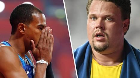 Kolmiloikkahuippu Christian Taylor ja kiekonheiton maailmanmestari Daniel Ståhl järkyttyivät lajiensa katoamisesta Timanttiliigasta.