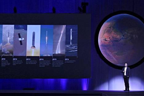 International Astronautical Congress on kansainvälinen avaruusalan kongressi. Tänä vuonna se järjestettiin Meksikossa.