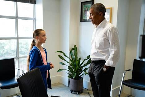Nuori aktivisti on päässyt tapamaan maailman johtajien eturiviä, muiden muassa Yhdysvaltain edellistä presidenttiä Barack Obamaa.