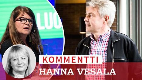 Outi Alanko-Kahiluoto ja Pekka Haavisto ovat ilmoittaneet olevansa kiinnostuneita viemään vihreitä vaaleja kohti.