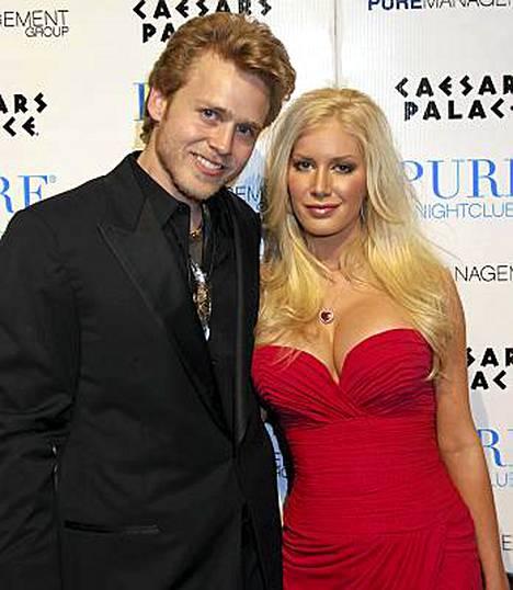 Spencer Pratt ja Heidi Montag pidätettiin Costa Ricassa. Kuva helmikuulta Las Vegasista.