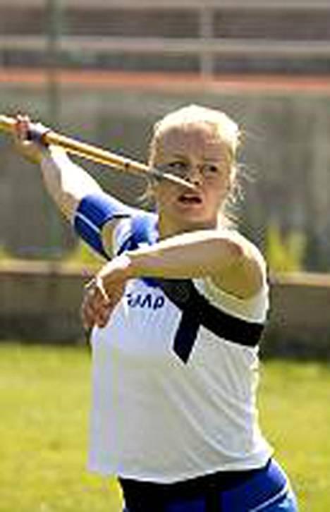 Taina Kolkkalan kauden päätavoite on Osakan MM-kisoissa.