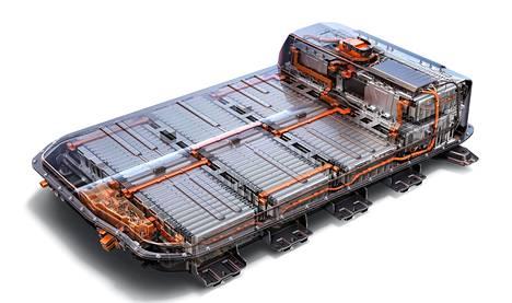 Opel Ampera-e:n akku näyttää tältä.