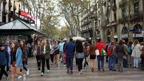 Barcelonaa käytetään usein esimerkkinä liikaturismista.