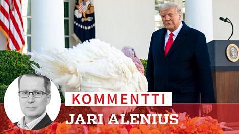 Donald Trump antoi perinteisen armahduksen kalkkunalle ennen kiitospäivää.