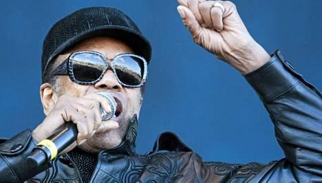 Bobby Womack esiintyi viime kesänä Pori Jazzeilla.