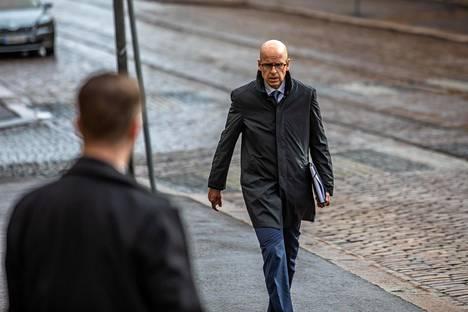 Martti Hetemäki huhtikuun lopussa 2020.