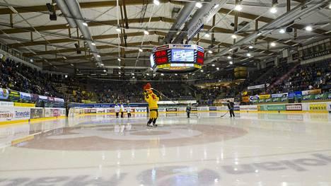 KalPaa edustava juniorijääkiekkoilija pyysi apua julkisessa Facebook-kirjoituksessaan. Kuva on KalPan kotiareenasta Kuopiosta.