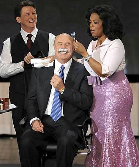 Oprah vei Dr. Phililtä viikset.