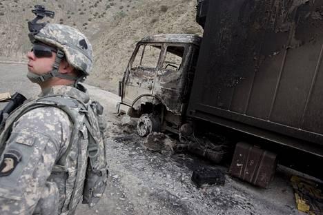 Yhdysvallat alkoi kesällä vetäytyä Afganistanista 20 vuoden jälkeen.