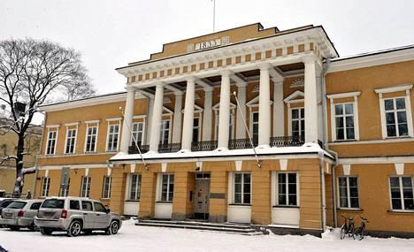 Åbo Akademin päärakennus Turussa.