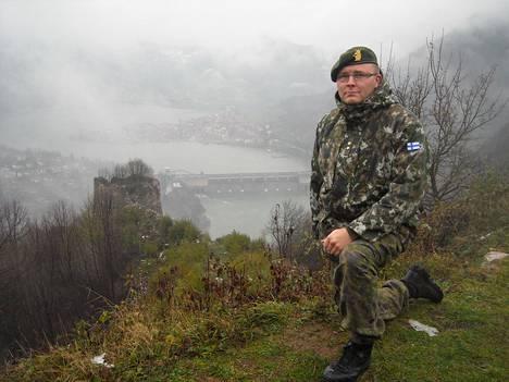 Sakari Lauriala toimi Bosnia-Hertsegovinassa rauhanturvaajana vuoden.