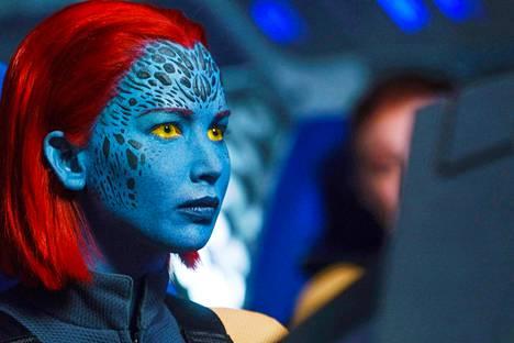 X-Men-elokuvien suurimpia tähtiä on Jennifer Lawrence. Hän näyttelee Ravenia, muuntautumaan kykenevää mutanttia.