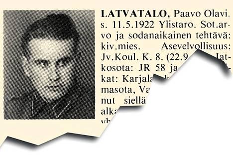 Kesäkuun 10. päivä oli varsin kova pohjalaisille. 22-vuotias ylistarolainen maanviljelijä, sotamies Paavo Olavi Latvatalo kuului Valkeasaaressa olleen JR 58:n 2. komppaniaan. Venäläisten hyökkäys alkoi tykistötulen jälkeen kello seitsemän, ja vielä aluksi hyökkääjälle aiheutettiin isoja tappioita. Tukikohdat kuitenkin menetettiin isojen miestappioiden kanssa. Kadonneitakin oli 43, joista tosin osa palasi myöhemmin komppaniaan. Sotamies Latvatalon ruumis jäi kentälle.