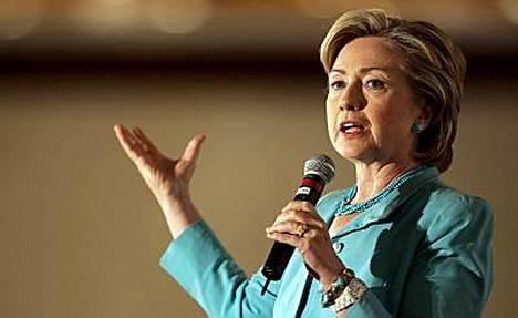 Hillary Clinton kirii kohti Valkoista taloa.