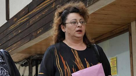 Sonja Karadzic kuvattuna heinäkuussa 2008.
