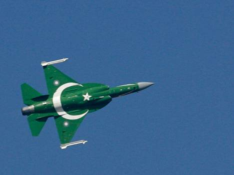 Pakistanilainen JF-17.